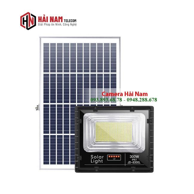 Đèn năng lượng mặt trời 300W JD-8300L chính hãng